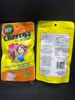 Charco's dog treats beef flavor 80g