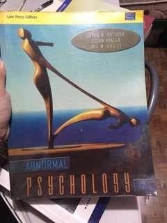 Abnormal Psychology 12th Edition by Butcher, Mineki, & Hooley