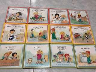 """Children Moral Character storybooks (""""Help me be good"""" by Grolier International)"""