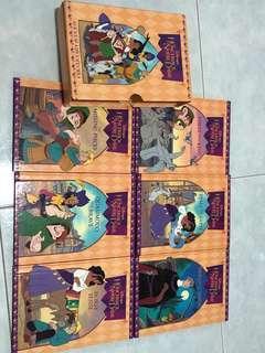 The Hunchback of Notre Dame Disney storybooks (by Grolier International)