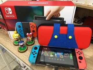 Nitendo Switch baru 2 bulan pakai.