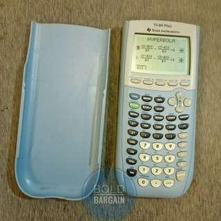 Texas Instruments TI-84 Plus Graphing Calculator, Scientific, Engineering, Maths. Sky Blue