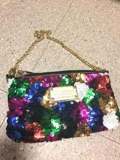Elegant Bling Bling Shoulder Bag
