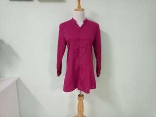 Preloved Pink Long Shirt