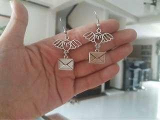 Pre-order Harry Potter inspired Hedwig Earrings for Sale!