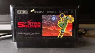 Star Soldiers FC Nintendo Famicom Game 任天堂 紅白機 遊戲帶