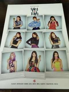 WTS TWICE Yes Or Yes Unsealed album (Ver. B)