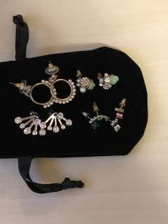 👂🏻👩🏻 Women's Pierced Earrings [Free Mail].