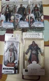 Assassin's Creed figures Series 1, 2 and 3 (For Charity)