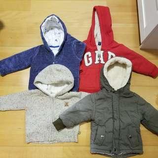 Baby jackets (like new)