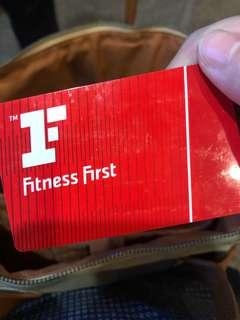 Fitness first membership