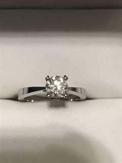 engagement diamond ring 0.7 carat