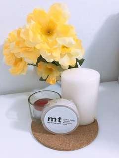 mt light beige washi tape