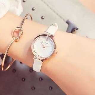 女款手錶 Women's Watch 白色 White