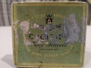 Vintage Cigarette Metal Box