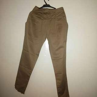 Brown Khaki Pants