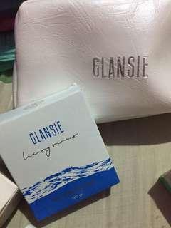 Face wash Glansie oily whitening soap sabun jerawat