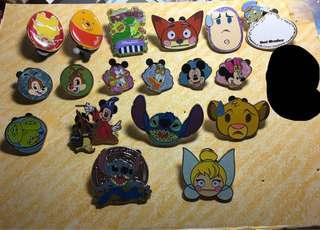 迪士尼襟章 徽章 Disney pin for trade