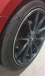 Used Bridgestone potenza tyres only