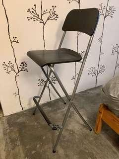 FRANKLIN foldable high stool chair