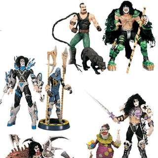 McFarlane Toys KISS Psycho Circus 4 Sets (Loose Completed)