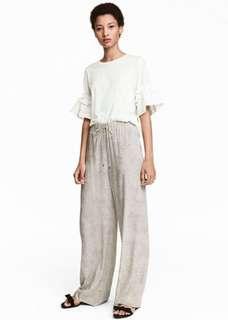 H&M Wide Leg Pants