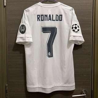 皇馬 1516 C朗拿度 波衫 球衣 Ronaldo Jersey Adidas Real Madrid