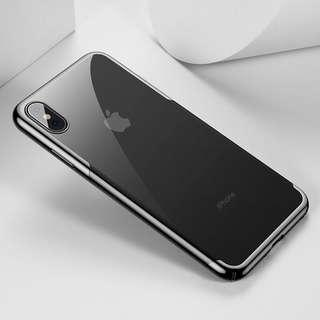 iPhone Xs Max 保護套 全角度保護殼 ( 黑色 ) 送 半屏透明保護貼  Full Protection Mobile Cover case For iPhone XS Max ( Black ) ,  Free Premium 9H Hardness Tempered Glass Clear Screen Protector ( Baseus)