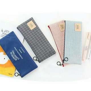 [instock] canvas pencil case