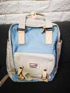 Doughnut Backpack 藍杏拼色 背囊