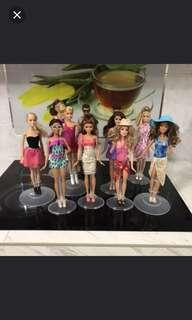 Barbie doll stand