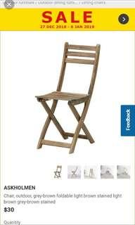 IKEA Wooden Chairs (4X)