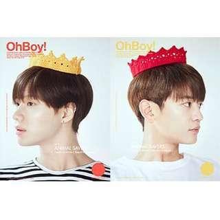 🚚 [現貨]OHBOY!雜誌 2018 SHINee TAEMIN版封面