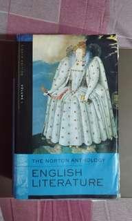 The Norton Anthology English Literature 英國文學史原文書