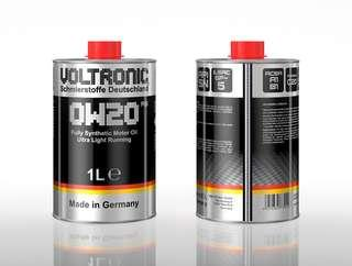 VOLTRONIC ® 0W20 RS Fully Synthetic Motor Oil  - HYBRID