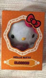 [sealed/bnib] limited edition blossom hello kitty plushie doll