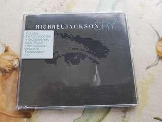 Michael Jackson Cry CD single