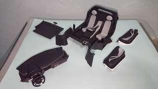 1/18 Aa Lamborghini Aventador interior