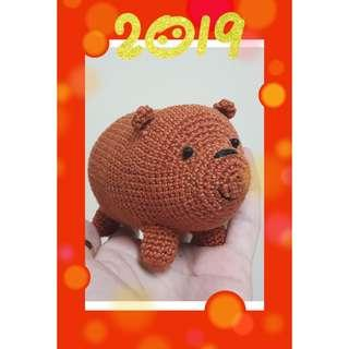 Amigurumi We Bare Bears ~ Grizzly