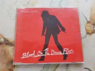 Michael Jackson Blood On The Dancefloor Red CD single
