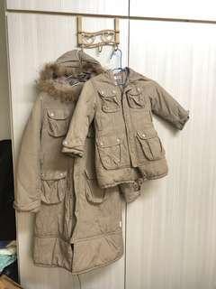 🚚 長版 母子 母女外套