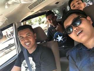 Abang driver tour family transport batam