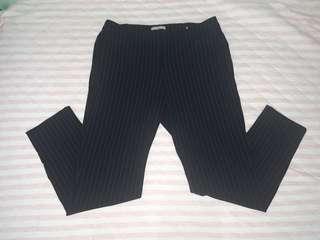 Formal Navy White Stripe Pants