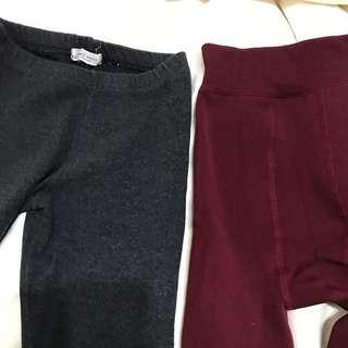 🚚 兩件褲襪(薄、厚磨毛各一件)