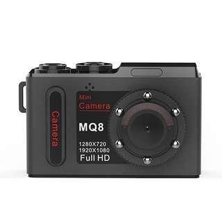 MQ8 FHD 1080P Mini DV Pocket Digital Video Recorder Camera Camcorder, Support IR Night Vision