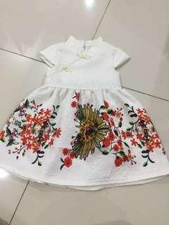 CNY oriental girls dress