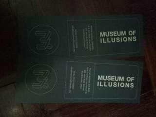 Tickets to Museum of Illusions @ Bukit Bintang
