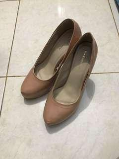 Nude Heels The Executive - Size 38
