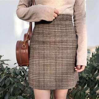🆕 READY STOCK CHECKERED SKIRT