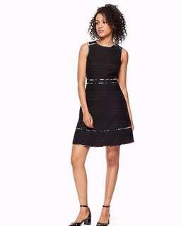 Kate Spade black with trims dress